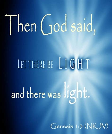 where is let there be light playing in theaters genesis 1 3 nkjv then god said let there be light