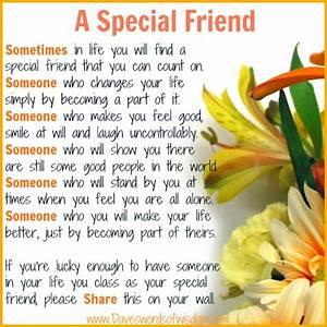 Daveswordsofwisdom.com: A Special Friend