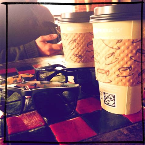 Excellent coffee and comfortable atmosphere. Spill the Beans, Greenville, South Carolina - In from the cold....