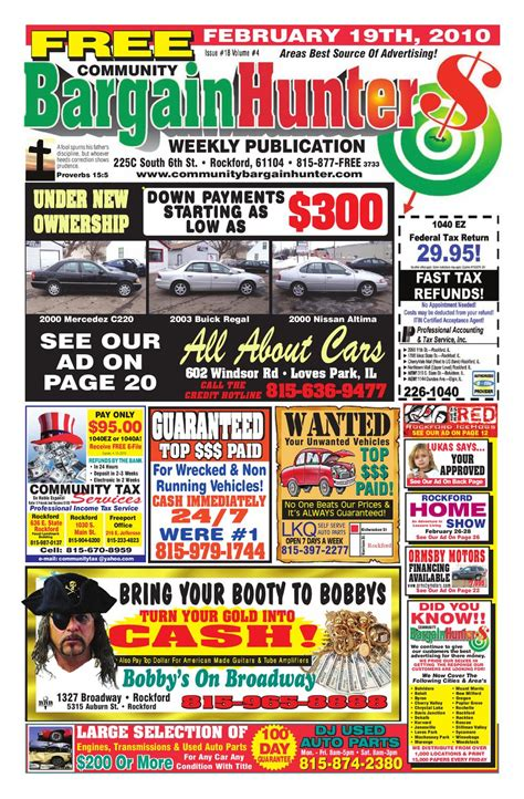 CBH Issue 2 19 10 by Community Bargain Hunter Issuu