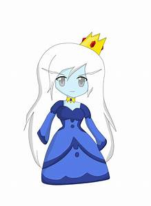 How to draw chibi ice queen