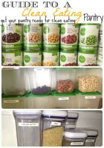 Healthy Pantry Recipes How To Create A Clean Pantry And Keep It Organized