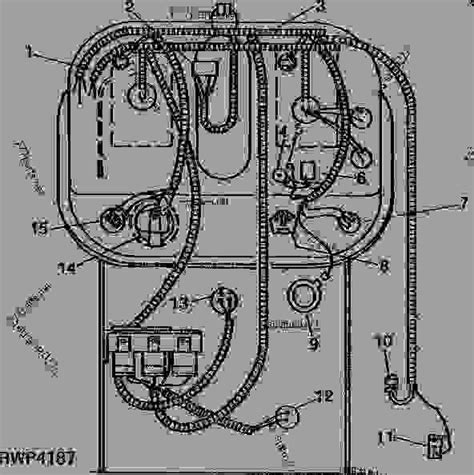 Deere 4250 Wiring Harnes by Instrument Panel Wiring Investigator Ii Monitor Not