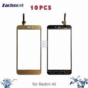 10pcs Touch For Xiaomi Redmi 4x Digitizer Touch Screen Digitizer Glass Panel Touch Replacement