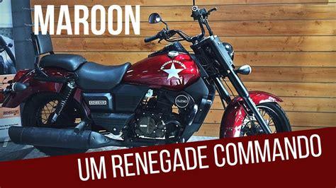 um colors um renegade commando limited maroon color walk around