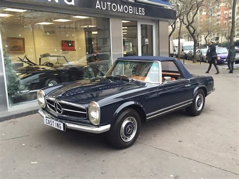 mercedes 280 sl pagode mercedes 280 sl pagode bleue automobile classic