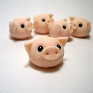 Wee Pigling Ornament - so simple and easy - would make ...