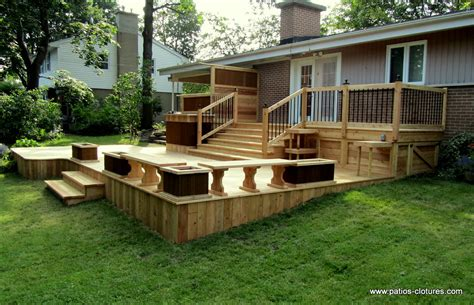 Home Deck Design Ideas by Patio Deck Design Www Patios Clotures 13 Patio