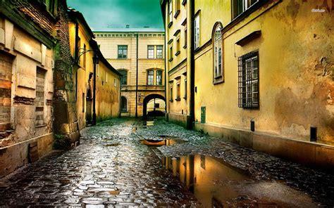 rainy street wallpaper gallery