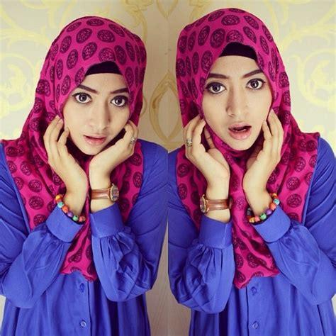 modern hijab tutorial segiempat  hijabiworld