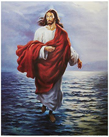 Jesus and Peter Walking On the Water Movie