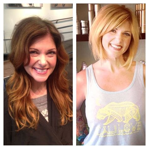 Brunette To Blonde Hair Before And After Hairmake Up