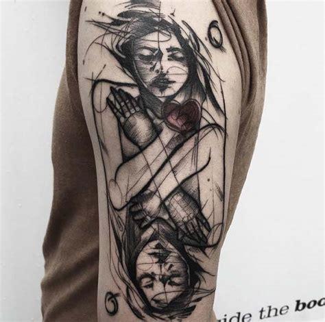 40+ Fascinating Sketch Style Tattoo Designs Tattooblend
