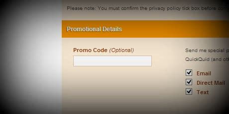 80784 Term Loans Promo Code by Quickquid Promo Code 2014 100 Lenders Compared