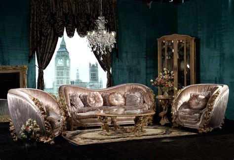 barocco living set  traditional sofas