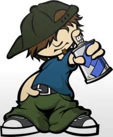 Hip Hop Graffiti Characters
