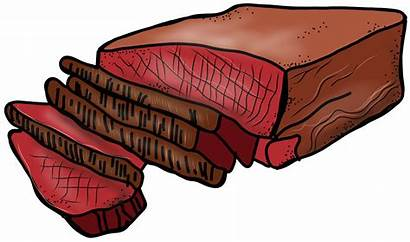 Steak Beef Meat Clipart Brisket Roast Cartoon