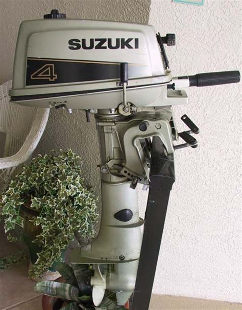 Suzuki Outboards For Sale by Used Suzuki 4 Hp Outboard For Sale Boat Motor