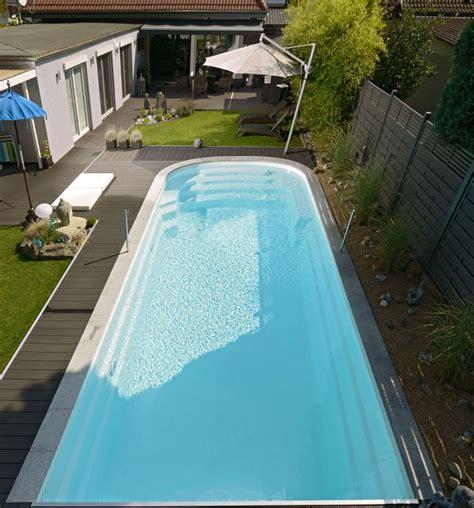 piscine coque piscines coque avec couverture piscines mdp cover
