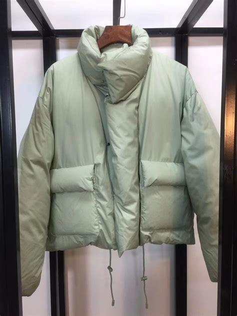 louis vuitton mens womens light green puffer jacket  coat outwear winter  green puffer