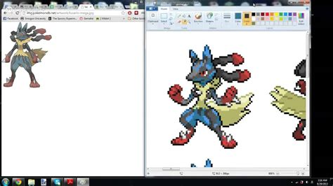 Lets Sprite Mega Lucario Part 3 Back To Bad