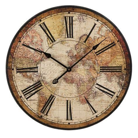 tumblr wall clocks buy imax worldwide world atlas wall clock