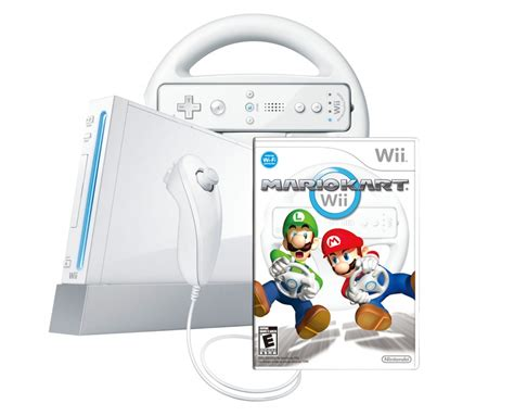 New Wii Nintendo Game Console Mario Kart 2 Play Bundle Ebay