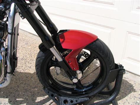 built  bike   duc front fender ducatims