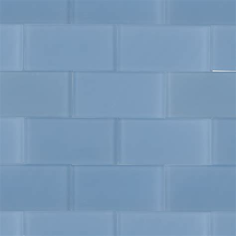 shop for loft blue gray frosted 3x6 glass tile at tilebar