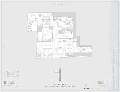 floor ls manhattan new york river house nyc floor plans