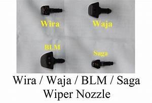 Wiper Nozzle   Waja    Blm    Saga
