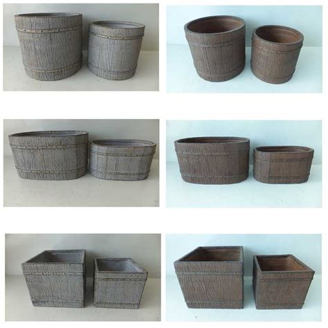 planters amusing concrete pots for sale concrete pots for sale large plant pots molds grey