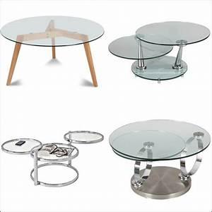 Table Basse Gigogne Verre : table ronde en verre pas cher table ronde verre sur ~ Teatrodelosmanantiales.com Idées de Décoration