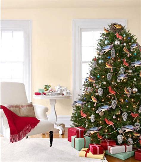 bird theme christmas tree festival of trees pinterest
