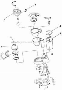 Mr  Coffee Sp4 Parts List And Diagram   Ereplacementparts Com