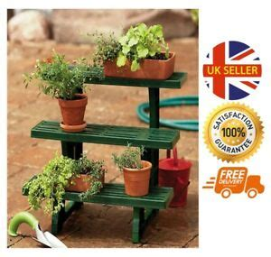 Etagere Garden by 3 Tier Etagere Plant Garden Herbs Potted Flower Display
