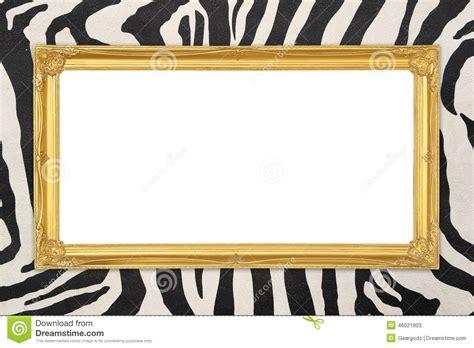 cadre d or avec le fond de texture de z 232 bre photo stock image 46021903