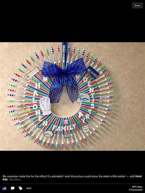 cute dental office christmas wreath dental dental