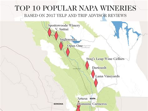 Best Napa Wine The 10 Best Napa Valley Wineries To Visit 2017 Edition