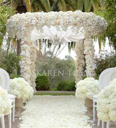backyard wedding decor wedding inspiration an outdoor ceremony aisle wedding bells