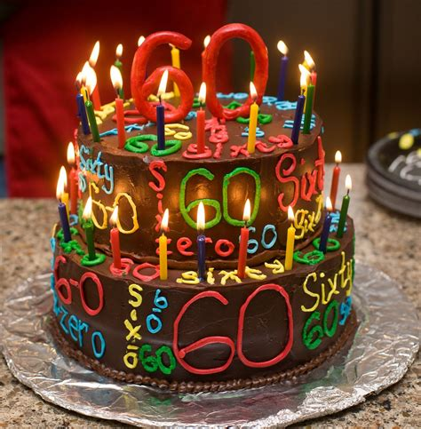 Now it's time to celebrate and make this special day more colorful. The Happy Caker: Happy 60th Birthday!