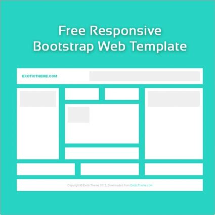 Website Template Free Free Blank Responsive Web Template Free Website Templates