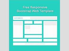 Free blank responsive web template Free website templates