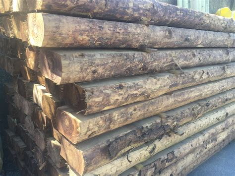 Affordable 9ft Wooden Posts   Hull Fencing