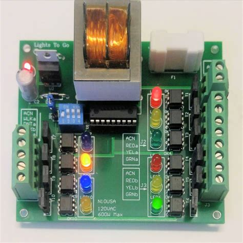 traffic light controller 4 way traffic