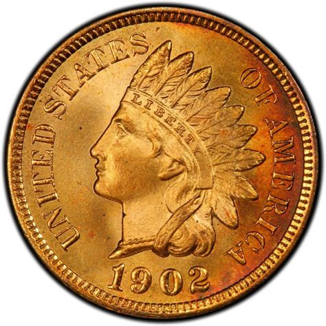 indian pennies 1902 indian head pennies values and prices past sales coinvalues com