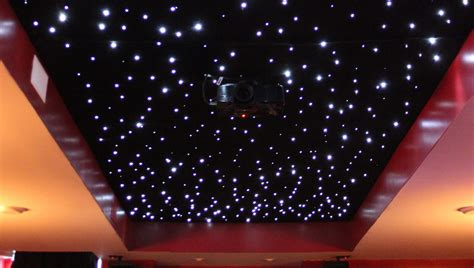 ceiling lights fiber optic enhance the space in