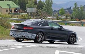 Mercedes Amg Coupe : 2018 mercedes amg c63 coupe facelift spied during tests in southern europe autoevolution ~ Medecine-chirurgie-esthetiques.com Avis de Voitures