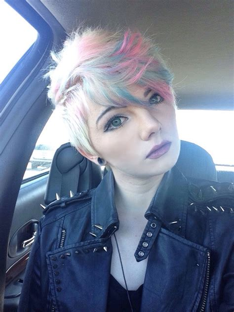 Pink Blue Blonde Hair 14 Free Hair Color Pictures