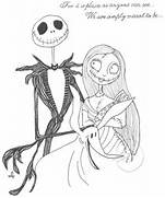 Jack and Sally by babychild on deviantART  Jack And Sally Coloring Pages